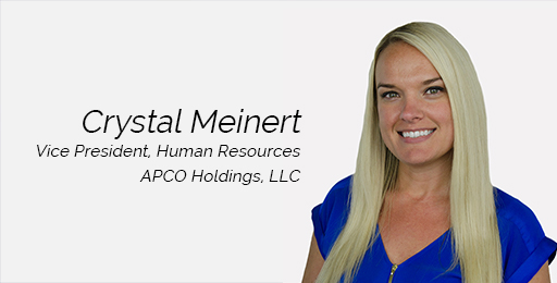 APCO Holdings, LLC, Promotes Crystal Meinert to Vice President, Human Resources