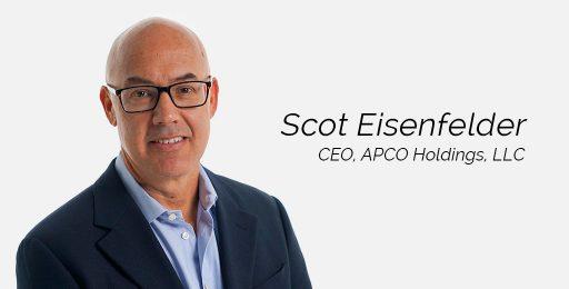 Scot Eisenfelder Takes Helm as CEO of APCO Holdings, LLC
